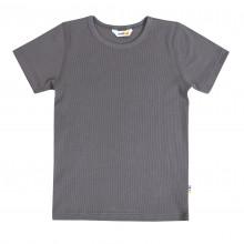 Joha T-shirt i økologisk bomuld - Grå