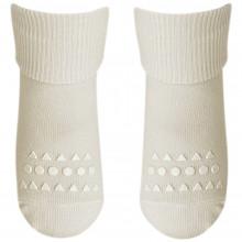 GoBabyGo Skridsikre sokker i bambus. Råhvide.