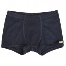 Joha boxer shorts i 100% uld. Marine.