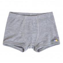 Joha boxer shorts i 100% uld. Grå.