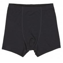 Joha herre boxer shorts i 100% uld. Johansen. Sort.
