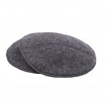 Joha soft wool ammeindlæg i 100% uld. Koksgrå.