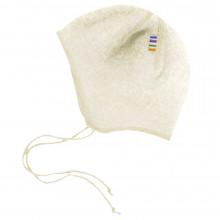 Joha soft wool hjelm. Råhvid.