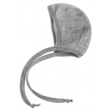 Engel Hjelm i Uldfleece - Light Grey Melange
