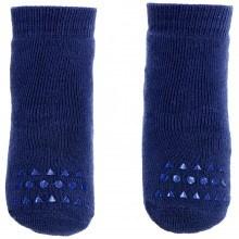 GoBabyGo Skridsikre sokker i bomuld. Mørkeblå.