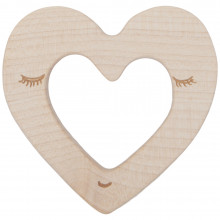 Wooden Story træ bidering. Hjerte.