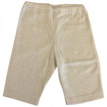 Selana bukser i økologisk bomuld og kashmir. Sand.