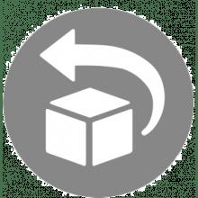 Returlabel til returnering af varer
